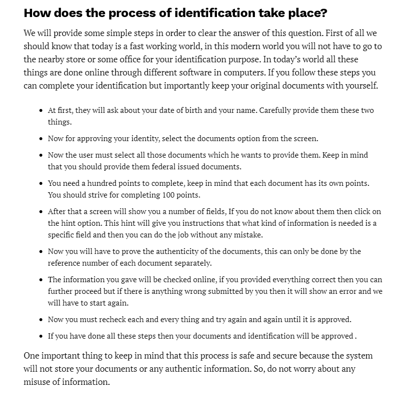 Mis webmail - Identification take place